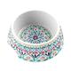 TarHong Boho Medallion Pet Bowl, Medium, Multi, 7.1 x 2.8