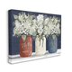 Americana Floral Bouquets Rustic Flowers 36x48 Canvas Wall Art