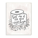 Bathroom Humor Text Me if You Need Toilet Paper 13x19 Wall Plaque