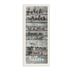 Porch Rules Rustic Blue Sit Back and Relax 7x17 Wall Plaque