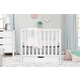 Carter's by Davinci Colby 4-in-1 Convertible Mini Crib with Trundle