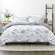 Home Collection Premium Down Alternative Molly Botanicals Reversible Twin Comforter Set