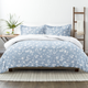 Home Collection Premium Ultra Soft Country Home Pattern 2-Piece Reversible Twin Duvet Cover Set