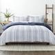 Home Collection Premium Down Alternative Farmhouse Dreams Reversible Twin Comforter Set