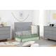 Carter's by Davinci Morgan 4-in-1 Convertible Crib in Gray