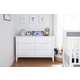 Carter's by Davinci Morgan 6-Drawer Double Dresser in White