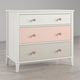 Little Seeds Monarch Hill Poppy 3 Drawer Peach and Taupe Dresser