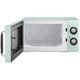 MAGIC CHEF .7 Cubic-ft 700-Watt Retro Microwave (Mint Green)