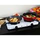 Megachef Portable Dual Burner Cooktop Buffet Range