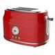 Frigidaire 2 Slice Retro Toaster - Red