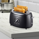 Brentwood Two Slice Extra Wide Slot Retro Toaster