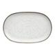 Tarhong Retreat Pottery White Bamboo Platter 10.6