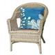 Spectrum III Sea Garden Indoor/Outdoor Pillow Blue 20