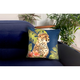 Cirrus Wild Cats Indoor/Outdoor Pillow Jungle 18