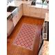 FlorArt York Crimson FlorArt 3'x5' Floor Mat