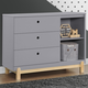 Delta Children Poppy 3 Drawer Dresser with Cubbies