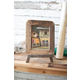 Recycled Wood Photo Frame on An Easel