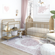 Little Seeds Little Seeds Rowan Valley Lanley Metal Crib and Changing Table Set, Gold