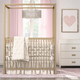 Little Seeds Little Seeds Monarch Hill Haven Gold Metal Canopy Crib