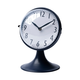 Blue Glass Dome Table Clock