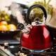 Mr Coffee Morbern 1.8 Quart Tea Kettle in Red
