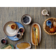 Bloomingville Large Acacia Wood Tray with Handle