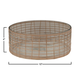 Bloomingville Woven Rattan and Glass Bowl