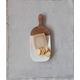 Creative Co-Op Marble Entertaining Board with Handle