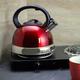 Better Chef 3-Liter Whistling Tea Kettle in Red