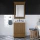 Atwater Living Jazmyne 24 Inch Bathroom Vanity with Sink, Natural