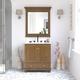 Atwater Living Jazmyne 30 Inch Bathroom Vanity with Sink, Natural