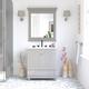 Atwater Living Jazmyne 30 Inch Bathroom Vanity with Sink, Gray