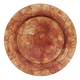Saro Lifestyle Charger Plates with Capiz Shell Design (Set of 4)