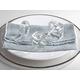 Saro Lifestyle Crystal Napkin Ring (Set of 4)