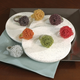 Saro Lifestyle Beaded Flower Napkin Ring (Set of 4)