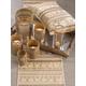 Saro Lifestyle Beaded Aztec Cotton Table Runner