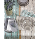 Saro Lifestyle Embroidered Design Placemat (Set of 4)