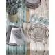 Saro Lifestyle Modern Embroidered Design Table Runner