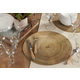 Saro Lifestyle Wood Print Placemat (Set of 4)