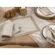 Saro Lifestyle Studded Linen Blend Dining Napkin (Set of 4)