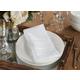 Saro Lifestyle Jacquard Table Napkin with Stripe Design (Set of 12)