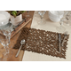 Saro Lifestyle Table Placemat with Laser Cut Design (Set of 4)