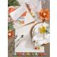 Saro Lifestyle Fiesta Tassel Table Napkin (Set of 4)