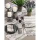 Saro Lifestyle Printed Wood Table Napkin (Set of 4)