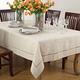 Saro Lifestyle Toscana Linen Blend 90x120 Tablecloth