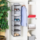 Home Basics Herringbone 6 Shelf Closet Organizer