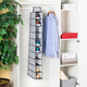 Home Basics Herringbone 10 Shelf Closet Organizer