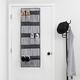 Home Basics Herringbone 20 Pocket Over the Door Shoe Oganizer