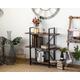 Whittier 3-Shelf Etagere Bookcase