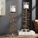 Uttermost Tala Rose Gold Candleholders (Set of 2)